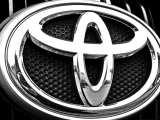 hydrogen fuel cells - Toyota Logo on Car grill