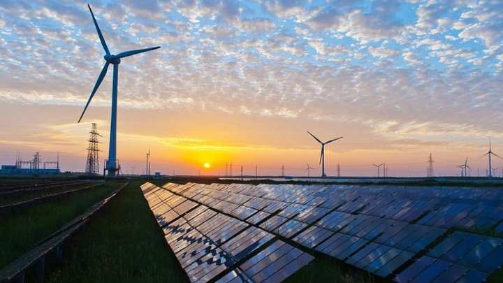 Wind and solar energy growth is highest in India and China