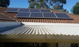 Sell solar power - Solar panels on roof
