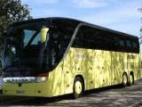 Green hydrogen transportation - Bus on road