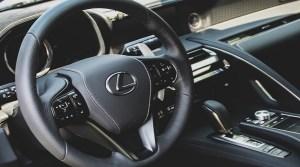 Lexus LS hydrogen fuel car - Interior of a Lexus Vehicle