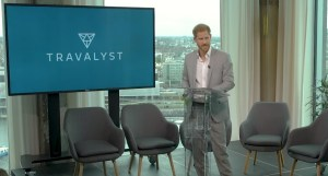 Prince Harry, Duke of Sussex unveils Travalyst at new conference in Amsterdam - YouTube