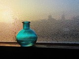 hydrogen storage systems - blue bottle - water