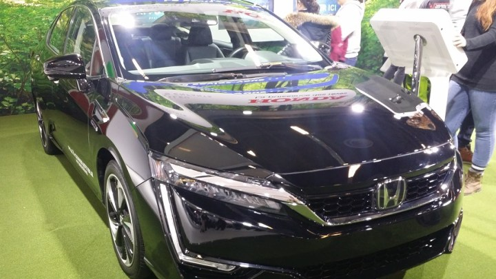 2020 Honda Clarity Fuel Cell upgraded to operate better in cold temperatures