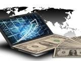 Climate Change Donation - Money - Computer - World