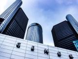 GM electric car - General Motors Building
