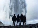Geothermal Energy Contract - Group of people standing in front of geyser