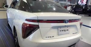 Hydrogen fuel car share - Toyota Mirai