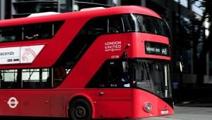H2 double deck bus - Double decker bus in UK