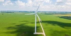 BP Wind Energy - Wind turbine farm