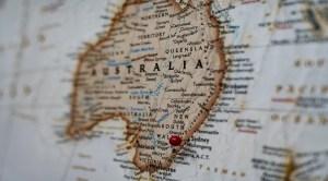 Green hydrogen industry - Australia map