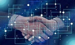 Audi hydrogen fuel - partnership - handshake - technology