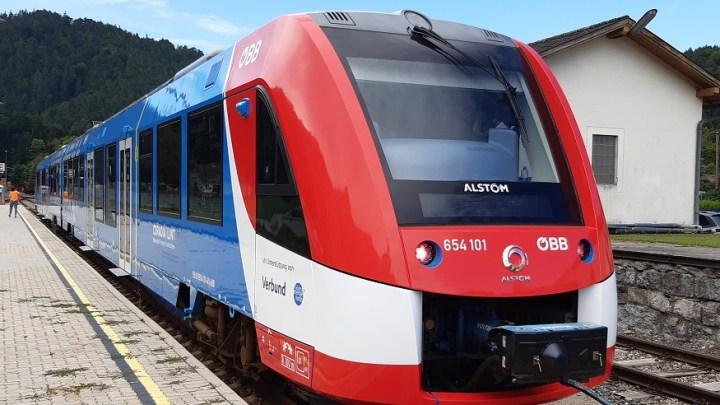 Alstom hydrogen passenger train starts regular service in Austria