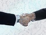 Hydrogen technology collaboration - business - handshake