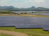 South Australia solar power - solar panel farm