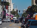 Start a hydrogen economy - Cars on road in Hollywood, California