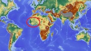 Green hydrogen - Map of World - West Africa