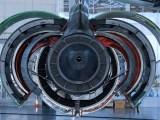 Hydrogen-electric plane - Image of plane engine