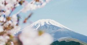 Hydrogen society - Susono, Japan - Mount Fuji