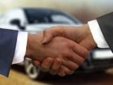 Light-duty vehicle fuel cell - handshake - car - business partnership