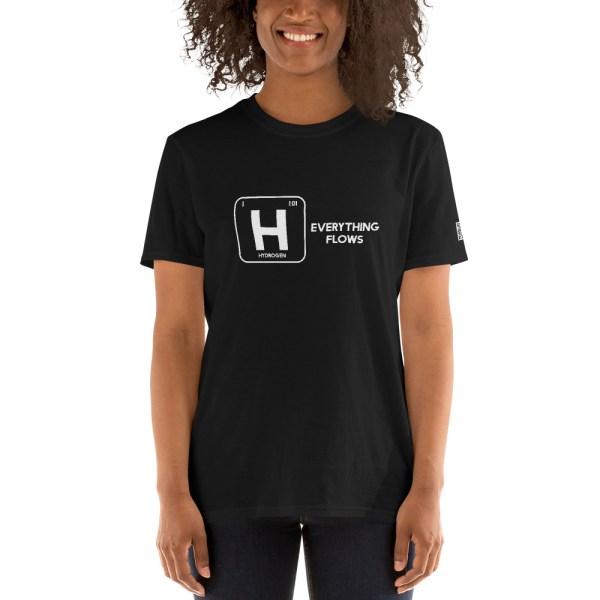 Hydrogen Everything Flows Short-Sleeve Unisex T-Shirt 30