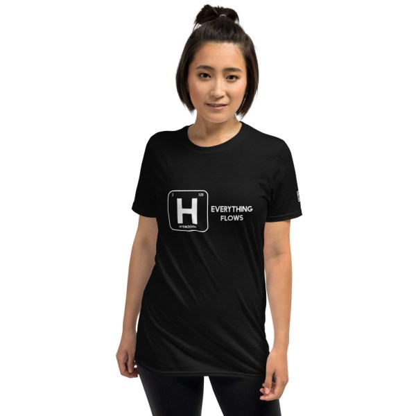 Hydrogen Everything Flows Short-Sleeve Unisex T-Shirt 33