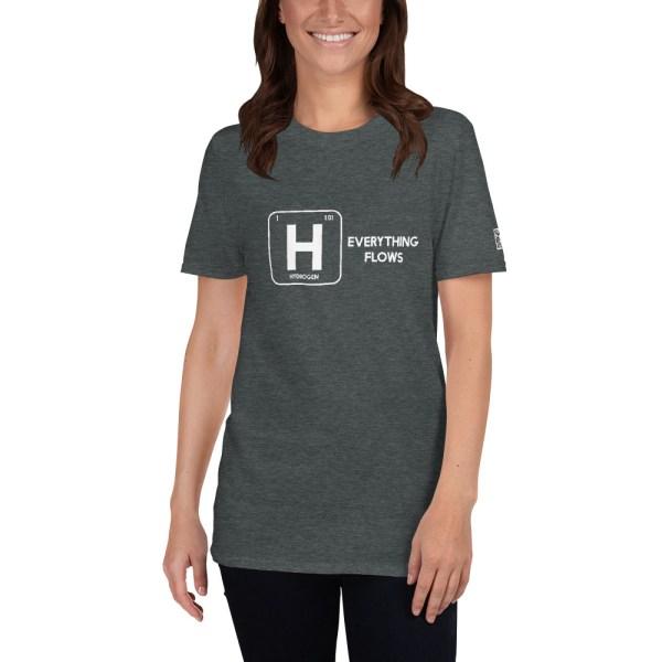 Hydrogen Everything Flows Short-Sleeve Unisex T-Shirt 11