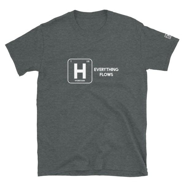 Hydrogen Everything Flows Short-Sleeve Unisex T-Shirt 12
