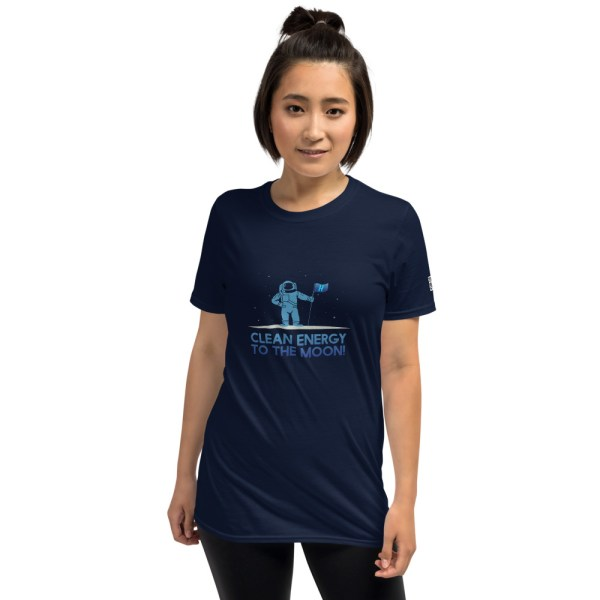 Clean Energy To The Moon Short-Sleeve Unisex T-Shirt 2