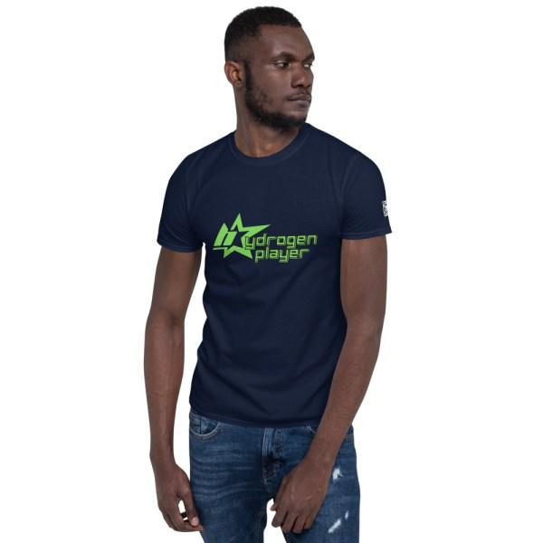 Hydrogen Player Short-Sleeve Unisex T-Shirt 3