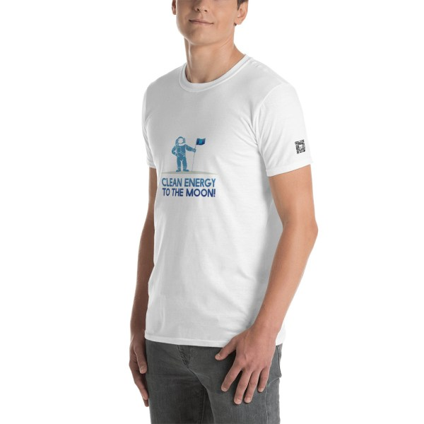 Clean Energy To The Moon Short-Sleeve Unisex T-Shirt 18