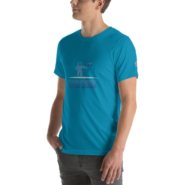 Clean Energy to the Moon Short Sleeve T-Shirt - Multiple Color Options 44