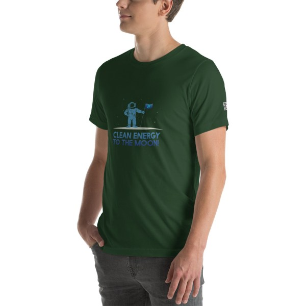 Clean Energy to the Moon Short Sleeve T-Shirt - Multiple Color Options 32