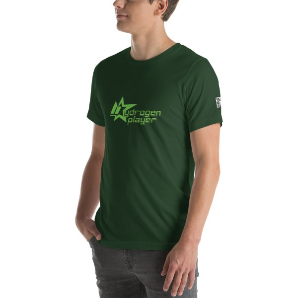Hydrogen Player Short-Sleeve Unisex T-Shirt Multiple Colors 13