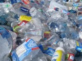 Waste plastic - plastic bottles and containers