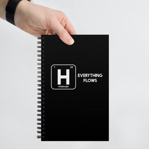 Hydrogen Element Spiral notebook 1
