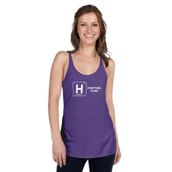 Hydrogen Element Women's Racerback Tank 8