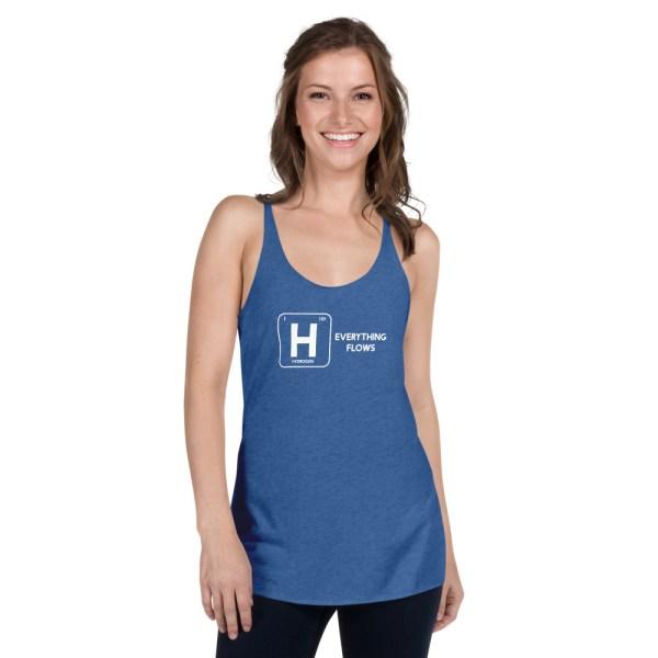 Hydrogen Element Women's Racerback Tank 11