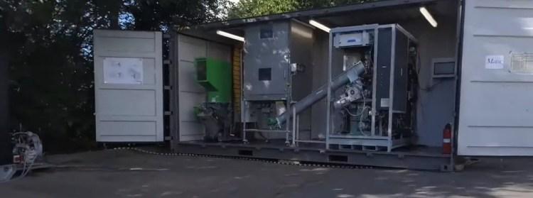 PTF Unit Plastic to energy
