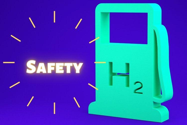 Hydrogen fuel station Safety