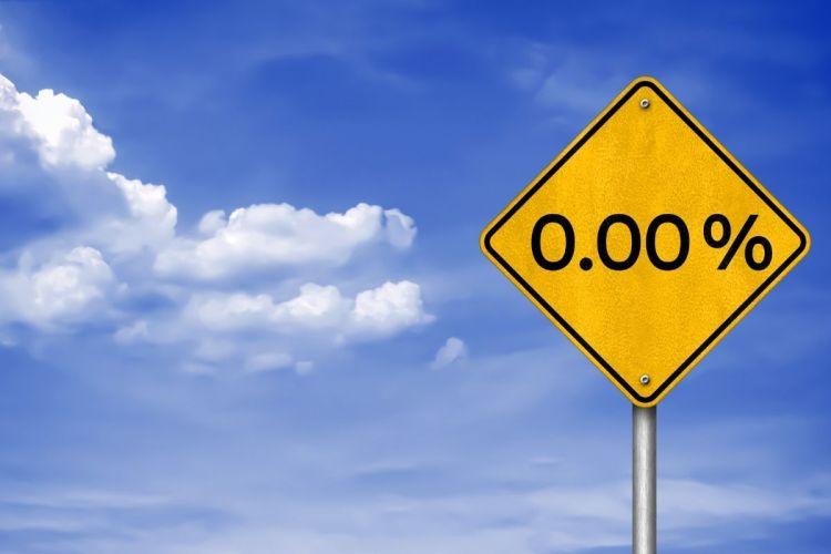 Zero-emission trucks - road sign