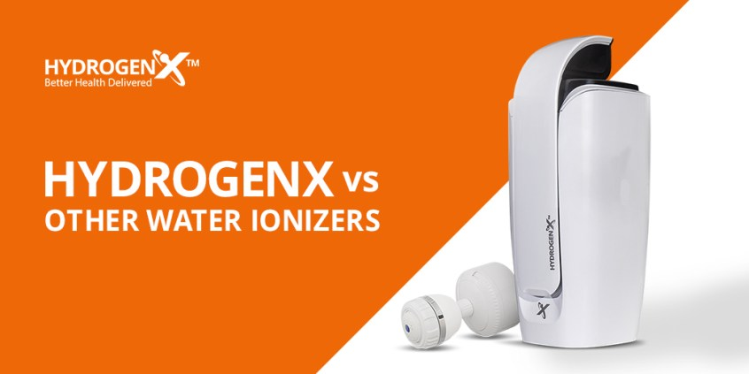 HydrogenX vs Other Water Ionizers