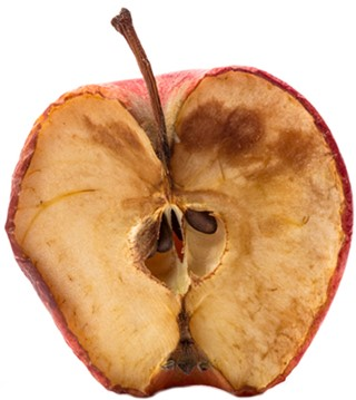 Apple after Oxidation