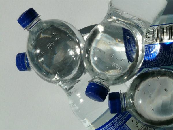 bottled alkaline water