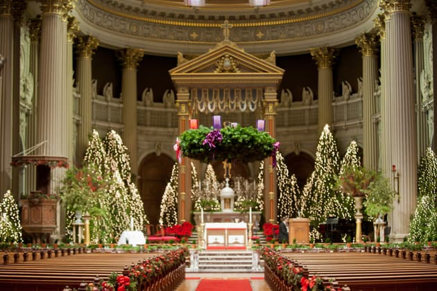Churches decorated for christmas psoriasisguru decorating catholic church for christmas billingsblessingbags org junglespirit Image collections