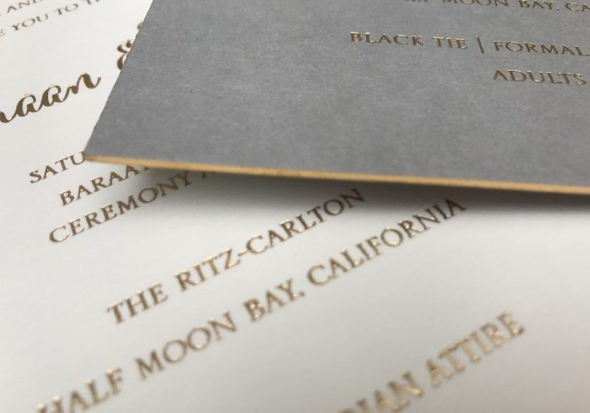 Indian Wedding Invitation San Francisco By Hyegraph
