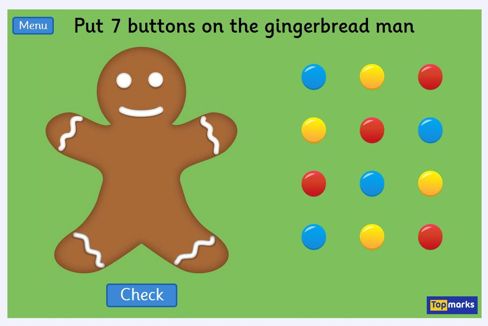 Gingerbread Man Mrs Hyers Computer Lab
