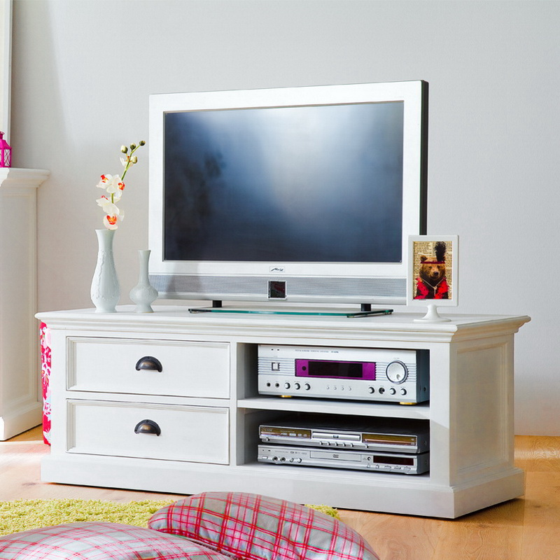 Halifax Entertainment Unit Medium with Two Drawers