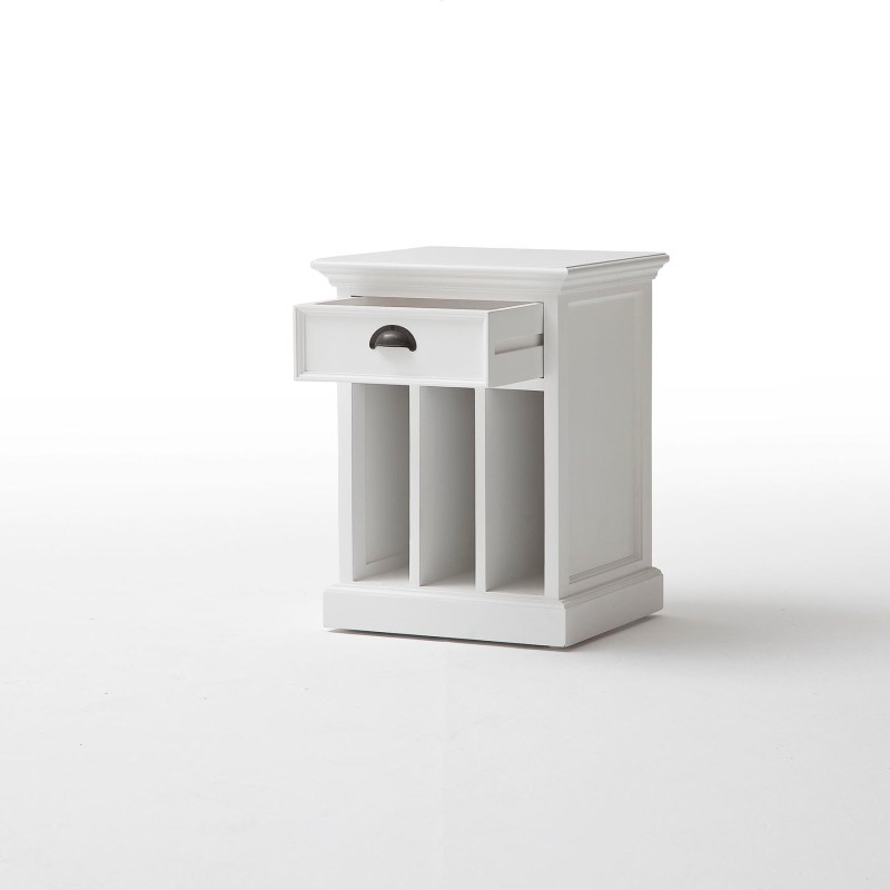 Halifax Bedside Table with Dividers