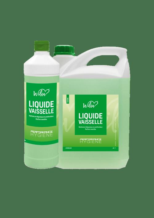 WILOV liquide VSL concentré vert parfum menthe